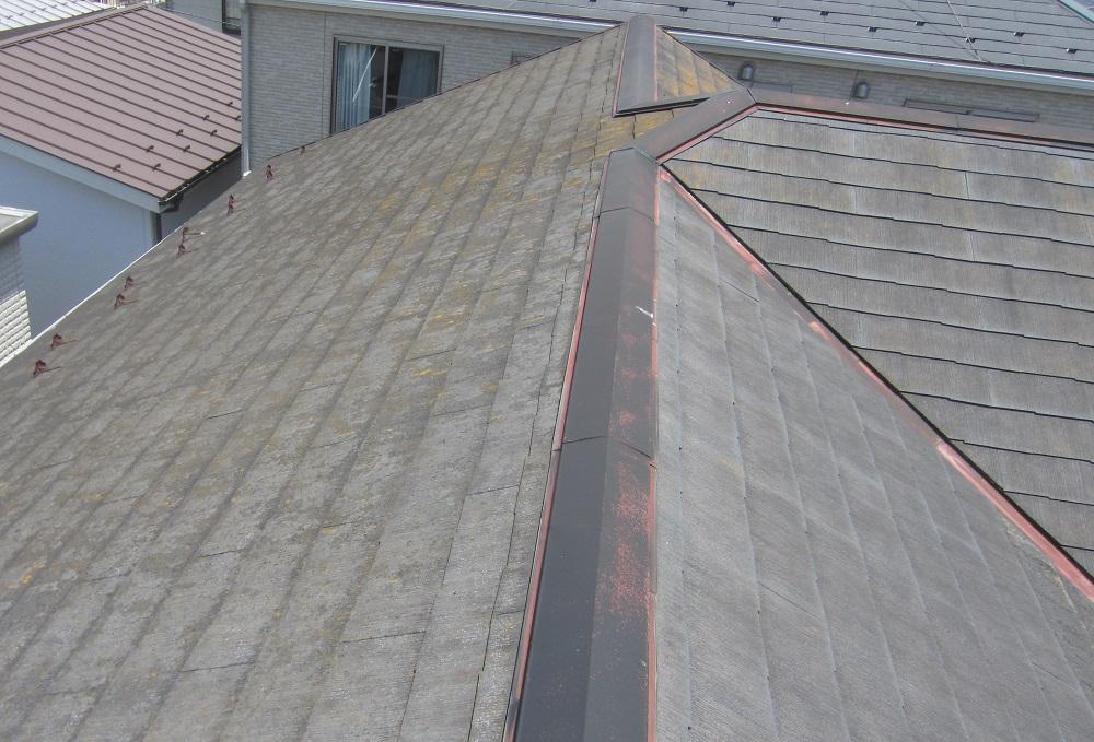 棟のサビ 屋根