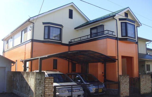 千葉県袖ケ浦市 外壁塗装・屋根塗装 ナノコンポジット 快適サーモF
