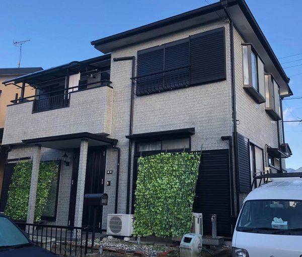 千葉県木更津市 外壁塗装 コーキング打ち直し 水谷ペイント ナノコンポジットW