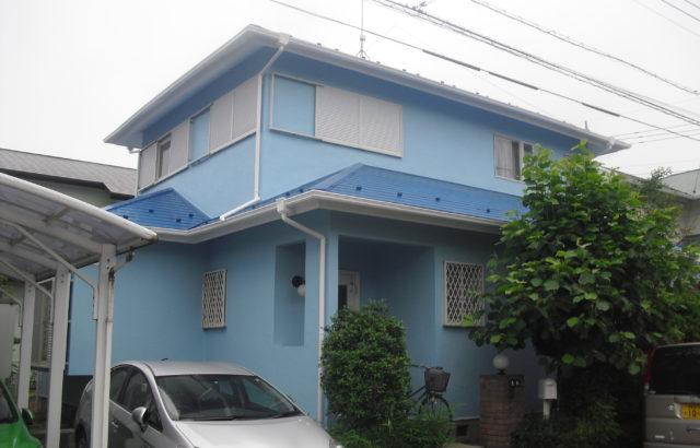千葉県富津市 屋根塗装 付帯部塗装