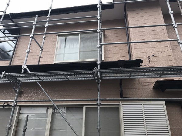千葉県木更津市 外壁塗装 付帯部塗装 日本ペイント ハイポンダブルガードSi パーフェクトトップ