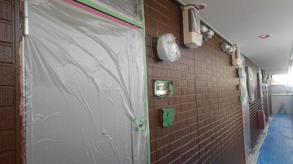 千葉県富津市 外壁塗装 屋根塗装 アパート塗装 下地処理 高圧洗浄 (2)