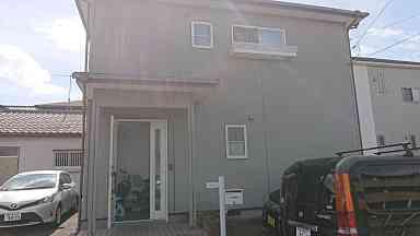 千葉県鴨川市 外壁塗装・コーキング工事 現場調査 チョーキング現象 コーキングの劣化 (2)