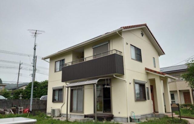 千葉県勝浦市 外壁塗装工事 木部塗装 S様邸
