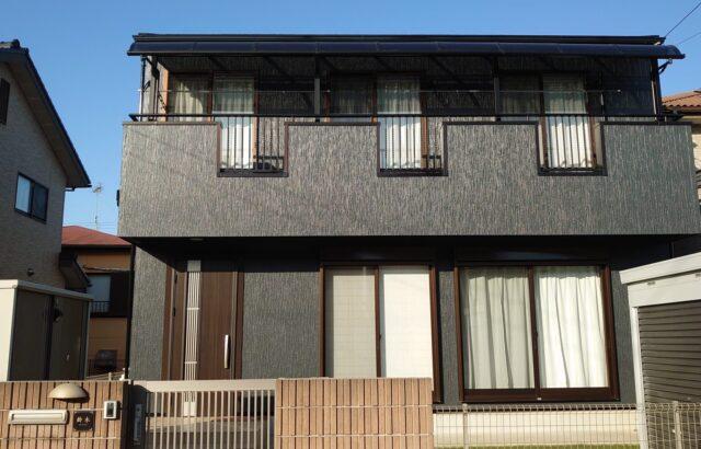 千葉県勝浦市 屋根塗装 外壁塗装付 帯部塗装 K様邸
