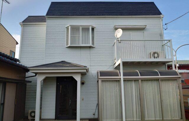 千葉県君津市 屋根・外壁塗装工事 付帯部塗装 T様邸
